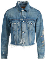 Denim & Supply Ralph Lauren Patched Denim Boyfriend Jacket