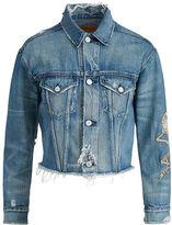 Denim & Supply Ralph Lauren Patched Denim Boyfriend Jacket