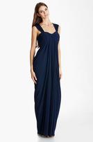 JS Boutique Draped Jersey Gown