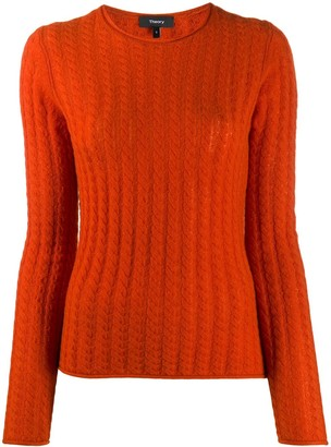 Theory Long Sleeve Cashmere Knit Jumper