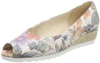Gabor Shoes Women's Comfort Sport Closed-Toe Pumps, (Multicolor Jute)