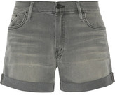 Mother Dropout Distressed Shorts
