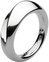 Kit Heath Bevel Wave Ring, Silver