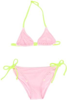Mc2 Saint Barth Kids Holly triangle bikini