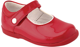Start Rite Start-rite Start-Rite Children's Nancy Leather Rip-Tape Shoes, Red