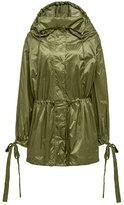 Fenty Puma by Rihanna Tie-Cuff Drawstring Parachute Jacket, Green