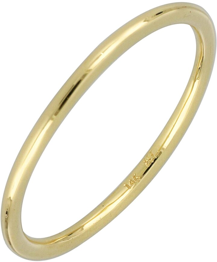Bony Levy Wedding Band Ring, 1.36mm