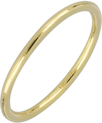 Bony Levy Wedding Band Ring, 1.36mm