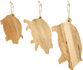 Twos Company Pig Cutting Boards (Set of 3)