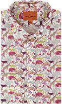Simon Carter Liberty Queue For The Zoo Print