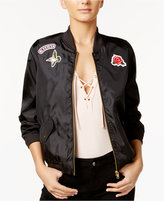 Material Girl Patch Bomber Jacket, Only at Macy's
