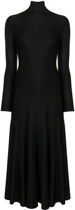 Bottega Veneta Long Roll Neck Dress