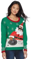 It's Our Time Juniors' Light-Up Christmas Sweater
