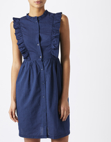 Gina Frill Shirt Dress