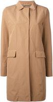 Herno trench coat - women - Cotton/Polyester/Polyethylene/Acetate - 42