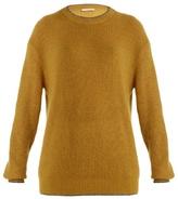 Christopher Kane Contrast-trim round-neck sweater