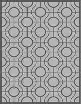 Safavieh Courtyard Collection CY6115-78 Light Grey and Anthracite Indoor/Outdoor Area Rug, 4 Feet by 5 Feet 7-Inch