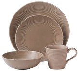 Gordon Ramsay Maze Taupe 4-Piece Place Setting