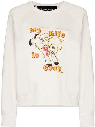 Marc Jacobs x Magda Archer print sweatshirt