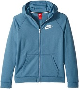 Nike Sportswear Full-Zip Lightweight Ultra Wash Hoodie Boy's Sweatshirt