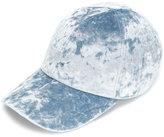 Federica Moretti velvet cap - women - Cotton/Polyester/Spandex/Elastane - M