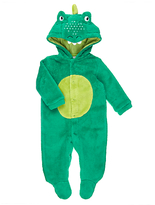 John Lewis Dress Up Crocodile Onesie, Green