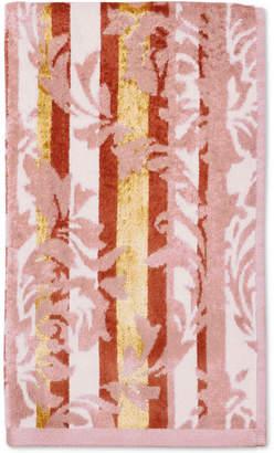 "CHF Damask Stripe Cotton 16"" x 28"" Hand Towel Bedding"