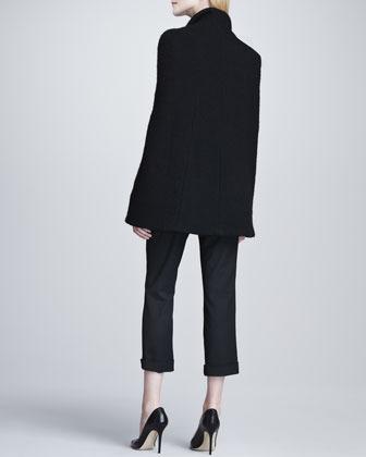L'Agence Cropped Tuxedo Pants