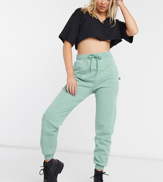 Reclaimed Vintage inspired washed joggers in sage