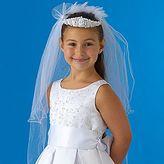 Haddad Girls Communion Veil Crown