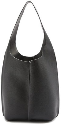 Acne Studios Adrienne Grained-leather Tote Bag - Black