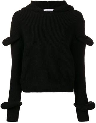 J.W.Anderson Hooded Knit Jumper