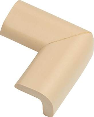 ABUS Junior Care Corner Protectors - Jannic | Baby Safety | Edge Cushion | Soft bumper | brown | 73138
