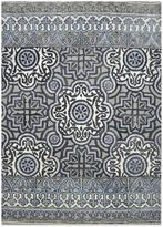 Bed Bath & Beyond Eva Tufted Wool Rugs in Indigo Multi