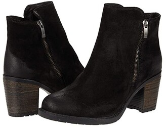 Eric Michael Allegra (Black Suede) Women's Boots