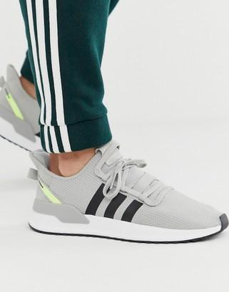 adidas U-Path Run sneakers in gray