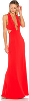 NBD x REVOLVE Yani Gown in Red. - size L (also in M,S,XL,XS)
