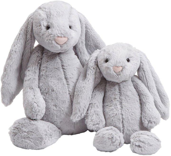 Jellycat Bashful Grey Bunny - Large