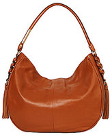 Foley + Corinna La Trenza Tasseled Whip-Stitched Hobo Bag