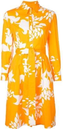 Carolina Herrera Floral-Print Shirt Dress