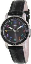 Timex Women's Kaleidoscope T2P050 Leather Analog Quartz Watch with Dial