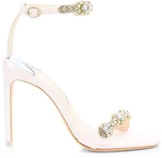 Sophia Webster Aaliyah Crystal-Embellished Ankle Strap Sandals