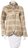 Akris Striped Lightweight Jacket