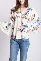Ivy Jane Ruffle Floral Top