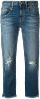 R 13 straight cropped jeans - women - Cotton/Spandex/Elastane - 25