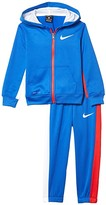 Nike Therma-FITtm Color-Block Full Zip Jacket and Jogger Pants Two-Piece Set (Toddler) (Game Royal) Boy's Active Sets