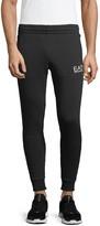 Emporio Armani Ea7 Logo Cotton-Blend Jogger Pants