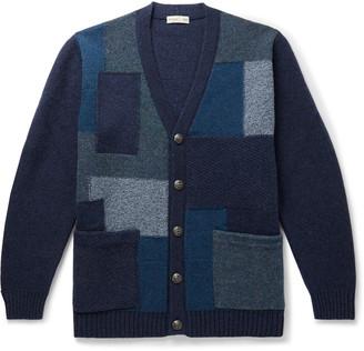 Etro Patchwork Wool Cardigan