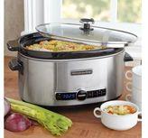 KitchenAid 6-Quart Slow Cooker with Glass Lid, KSC6223