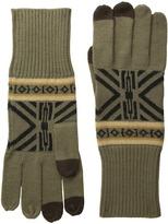 Pendleton Jacquard Knit Gloves